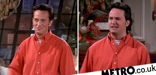 Friends' Chandler had major hair transformation as another gaffe come emerges