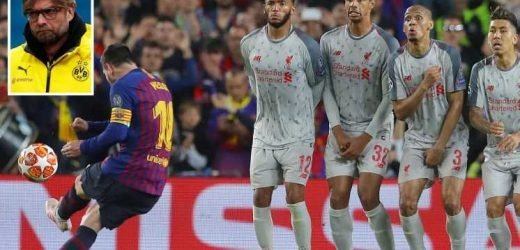 Watch Messi's incredible free-kick from behind which 'proved he is the GOAT'… but wasn't the best Klopp has seen