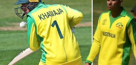 Australia cricket star Usman Khawaja taken to hospital for scans on jaw after bouncer smashes him in head
