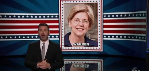 Jimmy Kimmel Unveils Song to Help You Remember Democratic Presidential Candidates