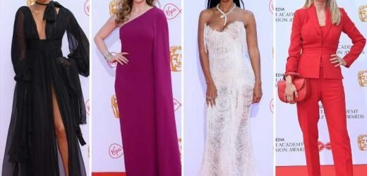 Bafta TV Awards 2019: Rochelle Humes, Maya Jama and Tess Daly lead the way with the fashion hits on the red carpet