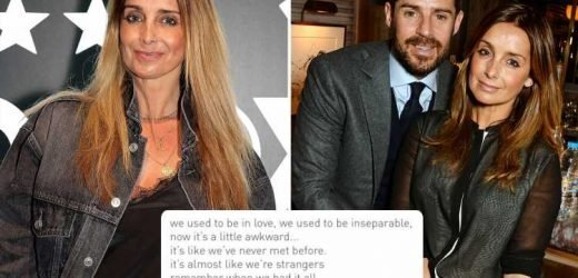 Louise Redknapp fans convinced new song is about ex Jamie as she calls relationship 'awkward' after 'falling out of love'
