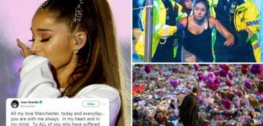 Ariana Grande's mum and Coronation Street stars pay tribute to Manchester bombing victims on two year anniversary