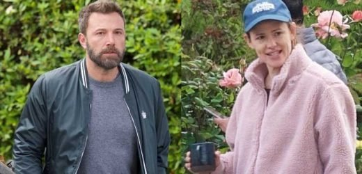 Ben Affleck & Jennifer Garner Keep It Casual for Brentwood Outing