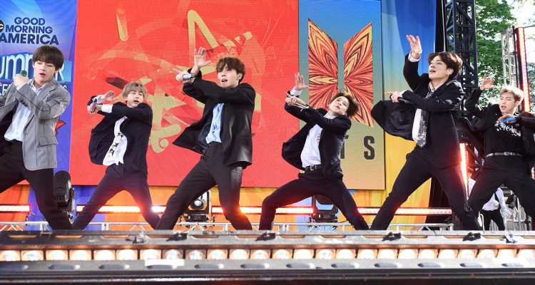 BTS Perform 'Boy With Luv' & 'Fire' On 'Good Morning America' – Watch Now!