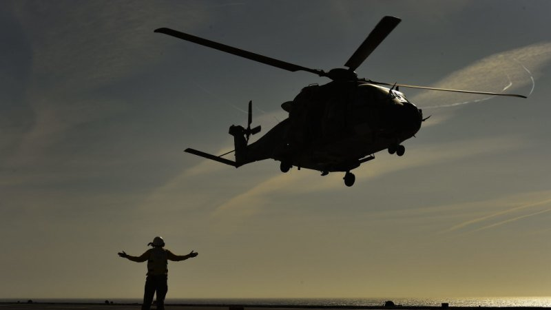 Australian navy pilots struck by lasers in South China Sea: report