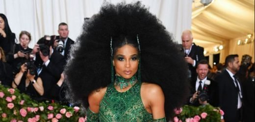 Ciara Won Best Hair of the Night at the Met Gala