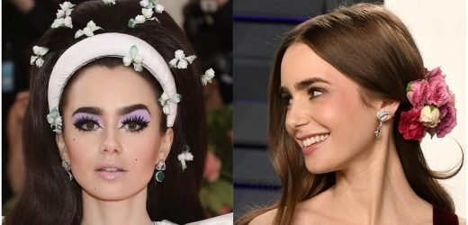 Prepare to Be Wowed by 38 of Lily Collins's Most Adventurous Beauty Moments