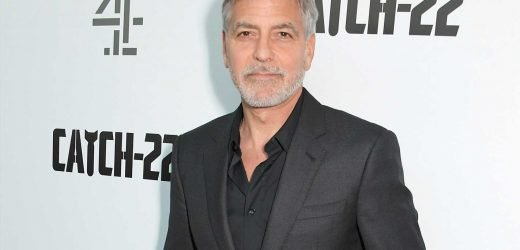 George Clooney says terrifying motorbike crash 'knocked me out of my shoes'