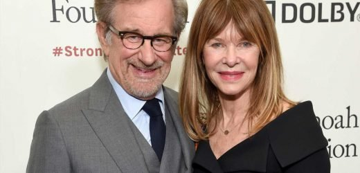 Steven Spielberg steps it up on date night with Kate Capshaw