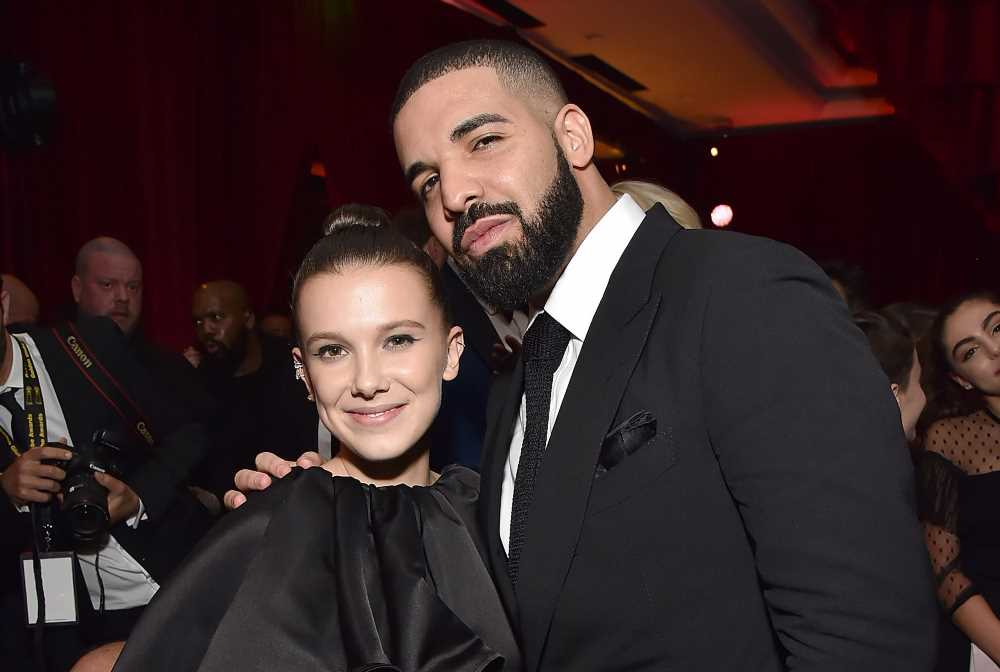Millie Bobby Brown supports BFF Drake's fashion line