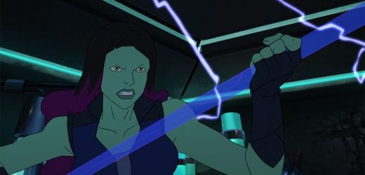 'Marvel's Guardians of the Galaxy': Exclusive clip