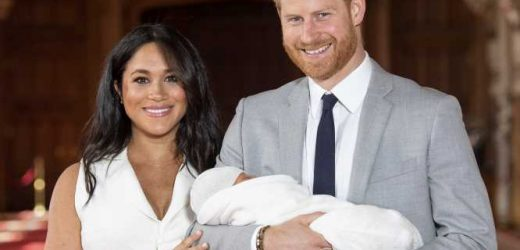 See the First Photos of Meghan Markle and Prince Harry with Their Royal Baby!