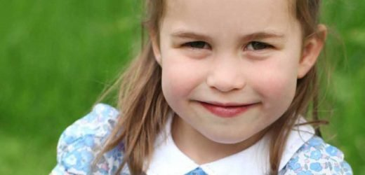 Princess Charlotte Is the Definition of Precious in Her Fourth Birthday Portraits Shot by Kate Middleton