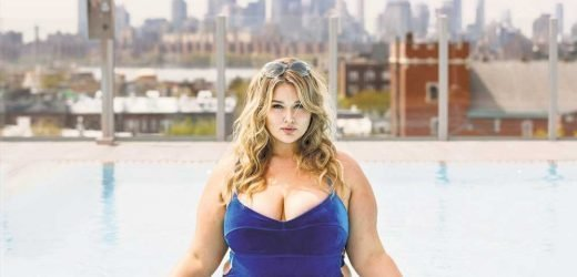 There's only one thing Hunter McGrady really hates trying on