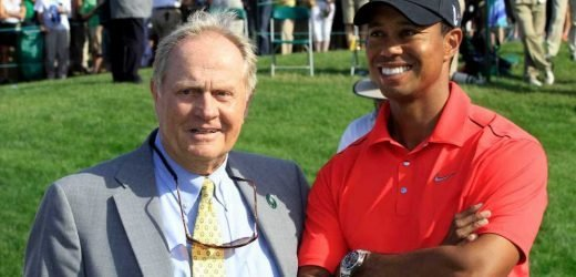 Mapping out how Tiger Woods would break Jack Nicklaus' major record