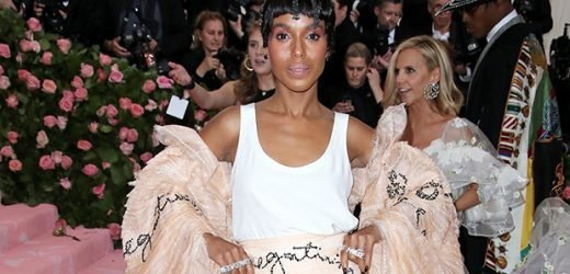 Kerry Washington Slays In Massive Ruffled Skirt With A Message At The Met Gala