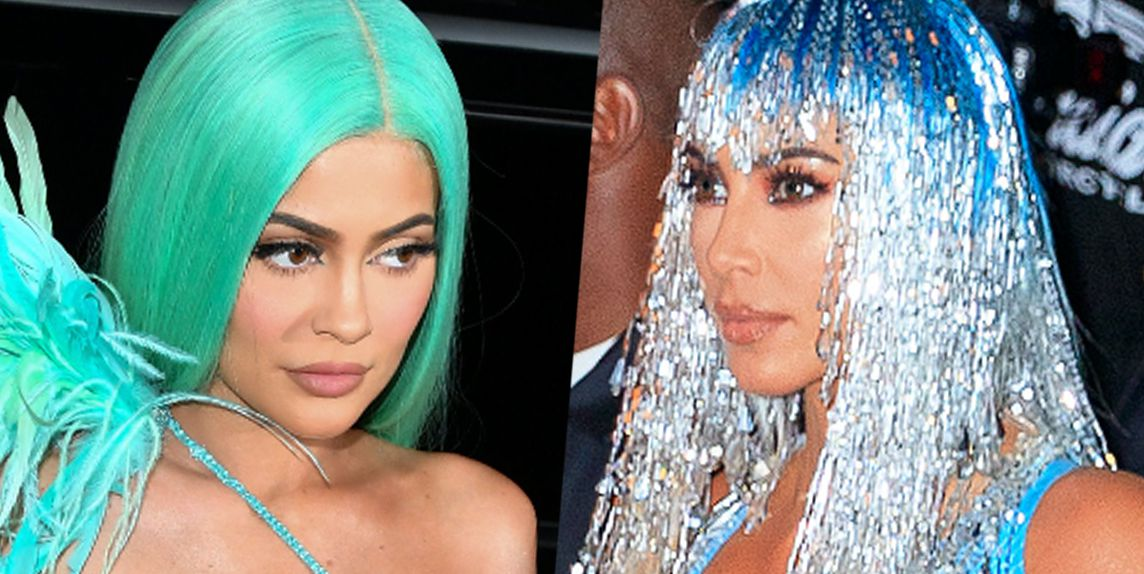 Kylie Jenner and Kim Kardashian's Met Gala After Party Looks Were Skintight and See-Through