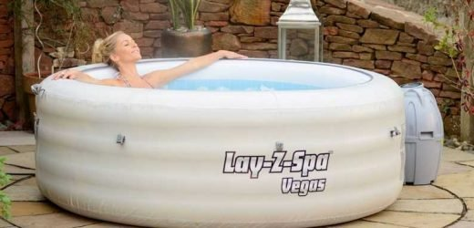 Homebase is selling a Lazy Spa inflatable hot tub for £300 – and it's a bargain