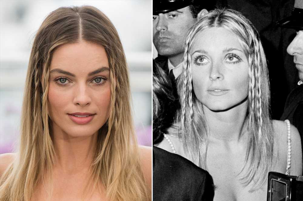 Margot Robbie honors Sharon Tate with Cannes hair look