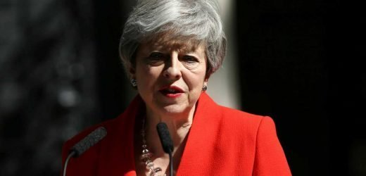 UK Prime Minister Theresa May resigning after Brexit failures