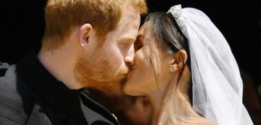 Royal Wedding anniversary – Top seven moments to remember when Prince Harry married Meghan Markle