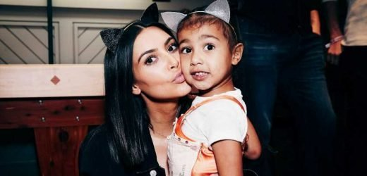Kim Kardashian Made North West Kid-Size Sunglasses and It's Too Cute