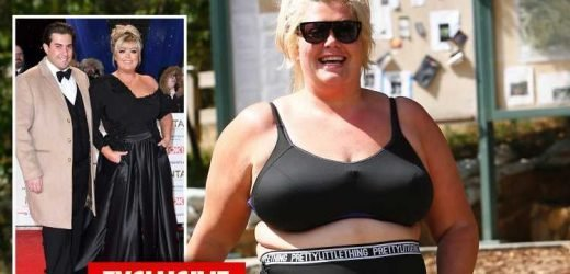 Gemma Collins has been chatted up by a top LA director after impressing him with her confidence after LA hike