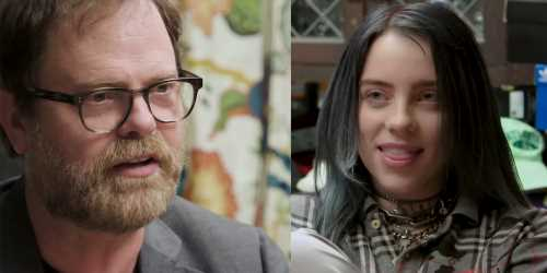 Rainn Wilson Tests Billie Eilish's Knowledge of 'The Office' in Hilarious Quiz – Watch!