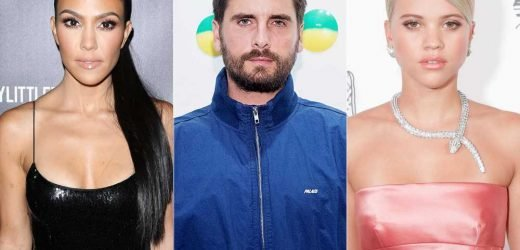 Kourtney Kardashian 'Spends a Ton of Time' with Ex Scott Disick and Sofia Richie, Source Says