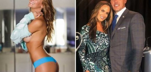 Brooks Koepka's girlfriend Jena Sims stuns in lingerie as golf star lights up the PGA Championship
