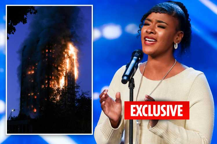 Britain's Got Talent star Leanne Mya haunted by screams after Grenfell fire but calls singing on the show 'a dream'