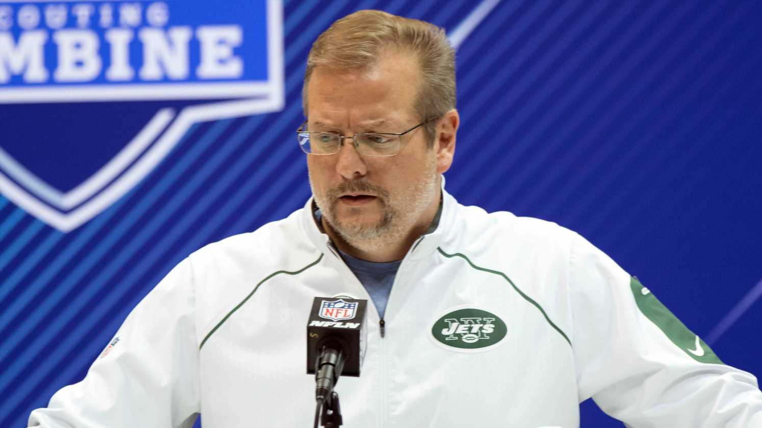 New York Jets fire general manager Mike Maccagnan after four seasons; Adam Gase to serve as interim GM