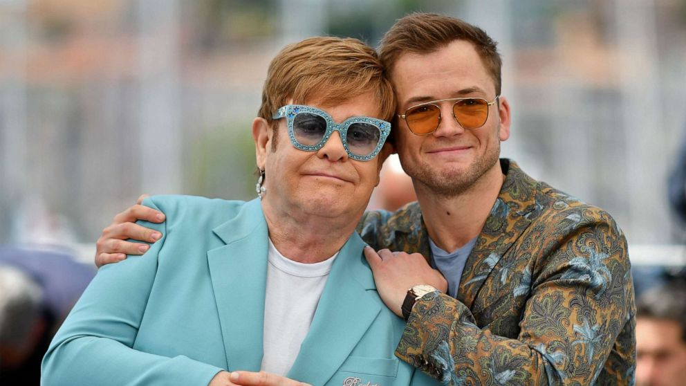 Elton John reveals emotional message behind 'Rocketman' film: 'Ask someone for help'