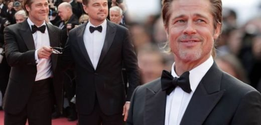Brad Pitt and Leonardo DiCaprio look suave on Cannes 2019 red carpet in matching tuxedos