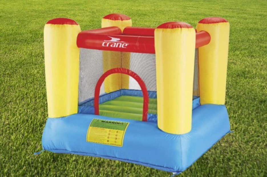 Aldi is selling a bouncy castle for an affordable price