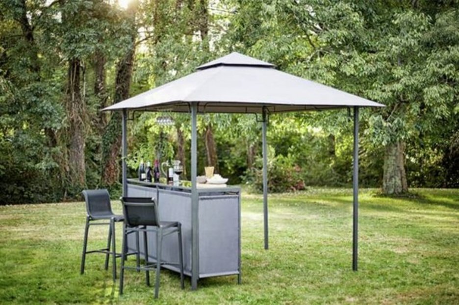 Argos is selling a gazebo with a built in BAR – and it's currently in the sale