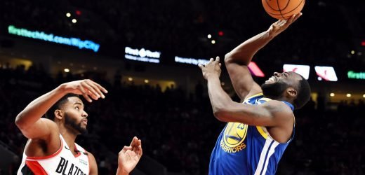 Draymond Green Has Never Been Better. Or This Quiet.