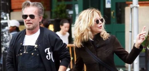 Romantic Stroll! John Mellencamp and Fiancee Meg Ryan Hold Hands in NYC: Pic