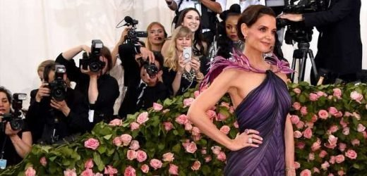 About Time! Katie Holmes and Jamie Foxx Arrive at 2019 Met Gala Together
