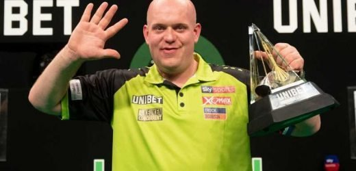 Michael van Gerwen is in a Premier League of his own