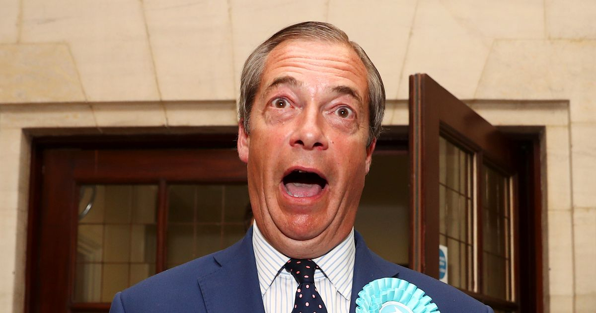 Nigel Farage mocked over letter from '10-year-old' supporter