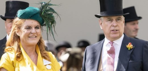 Surprise Royal Ascot appearance as Fergie and Prince Andrew arrive together
