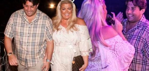 Gemma Collins and James Argent confirm relationship is back on with loved-up display in Mallorca