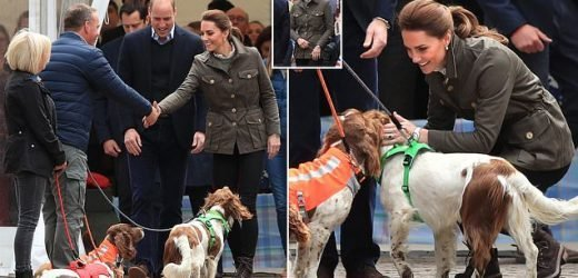 Kate Middleton and Prince William in Cumbria