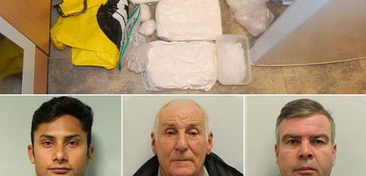 RAF sergeant and OAP jailed in £1m drugs and money laundering bust