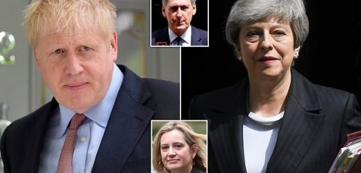 Theresa May threatens to block Brexit No Deal
