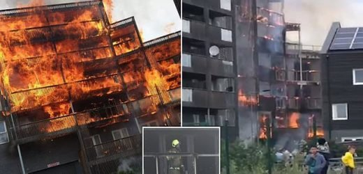 More than 30,000 live in flats with timber cladding from Barking fire