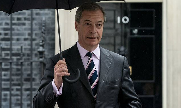 Nigel Farage says he WOULD make an election pact with the Tories