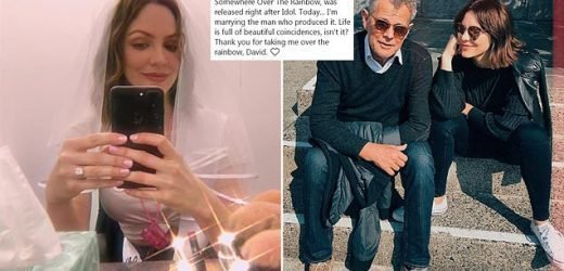 Katharine McPhee, 35, 'MARRIES fiancé David Foster, 69'